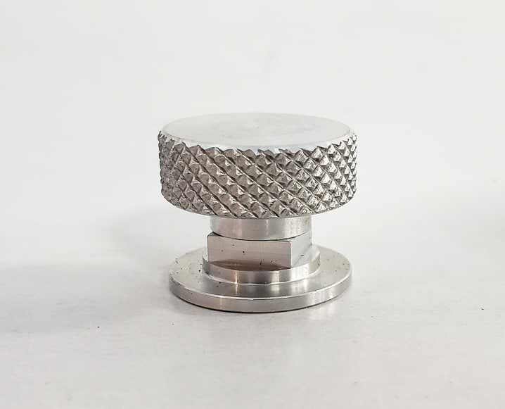 Aluminum Rough Knurled