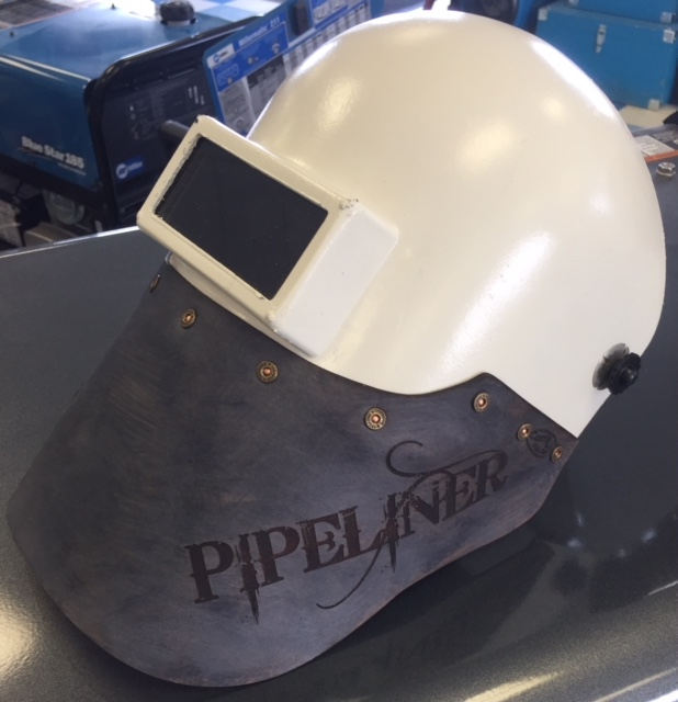 Pipeliner Helmet With Leather