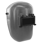 Black Fibre-Metal  906GY Tigerhood Classic Thermoplastic Welding Helmet