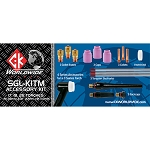 CK TIG Torch Accessory Kit 3 Series Stubby