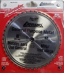 Milwaukee 8' General Purpose Metal Blade