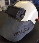 Pipeliner Helmet with Leather and Flip Front