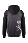 Up In Smoke Heavy Fleece Pullover Hoodie Retro