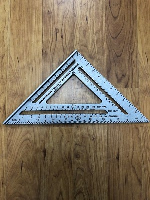 "Big Steel Carpenter Quick Square 12"" or 9"""