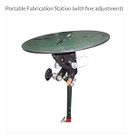Javelin Portable Fabrication Table (with Fine Adjustment)